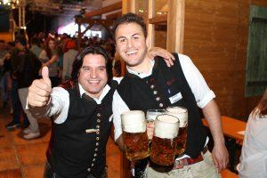 Schanzer Alm auf dem Volksfest in Ingolstadt